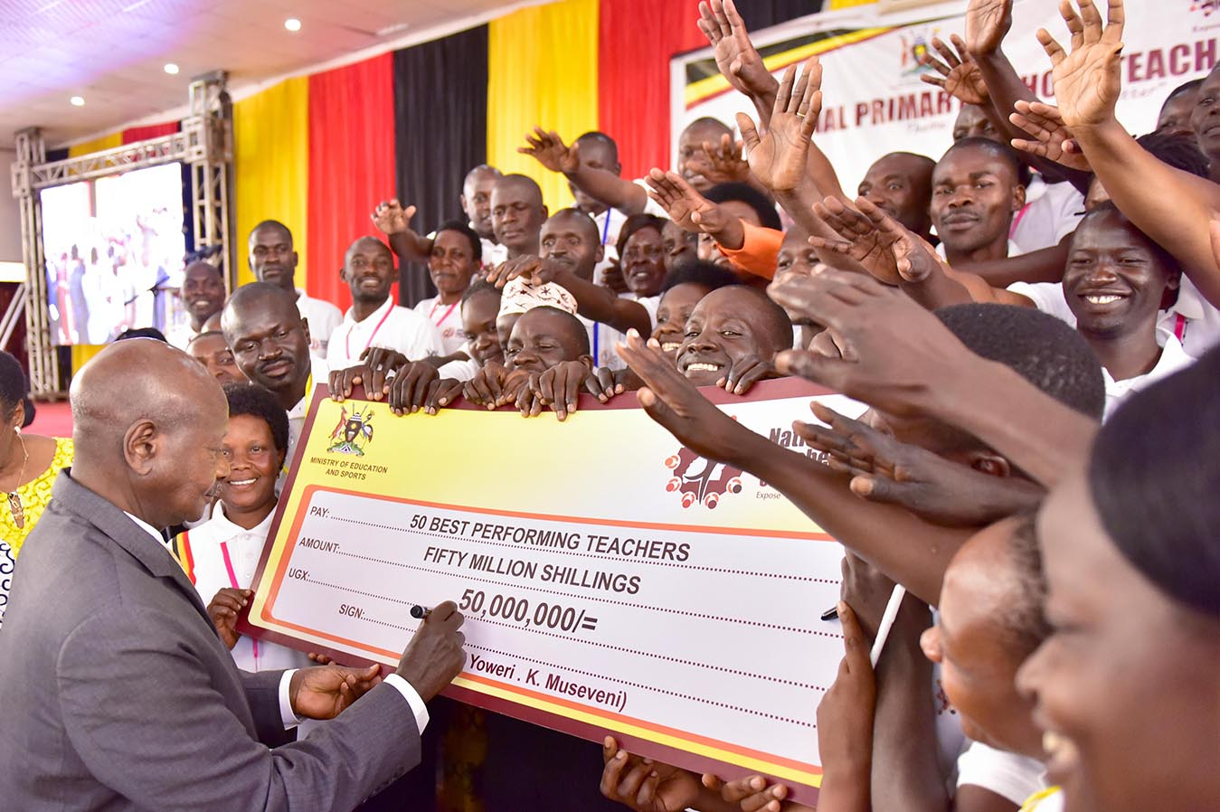 2nd National Primary School Teachers Conference - Maya - Wakiso - 7th Sept 2019 - Best Teachers Awarded