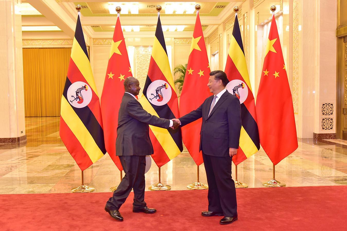 FOCAC - Museveni meets Xi Jingping - MOU - Meeting - Beijing - China