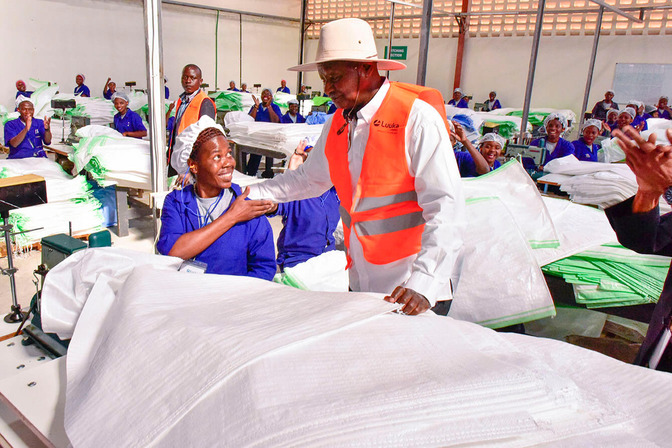 Namanve Industrial Park- President Commissions Factories - Luuka Plastics and Packaging